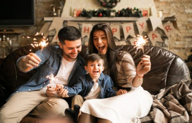 7 ideja kako dočekati Novu godinu s djecom